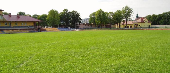 Stadion sportowy w Zgorzelcu